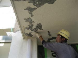 天井欠損補修